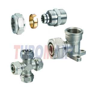 Pex-Al-Pex Compression Fittings | 100 Series