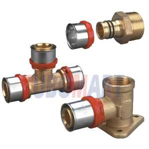 Pex-Al-Pex Press Fittings (TH Type)