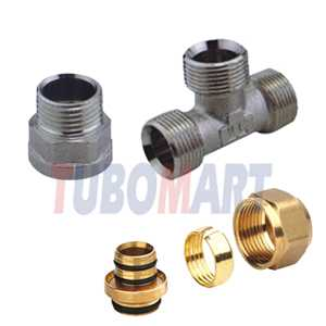 Demountable Pex-Al-Pex Compression Fittings
