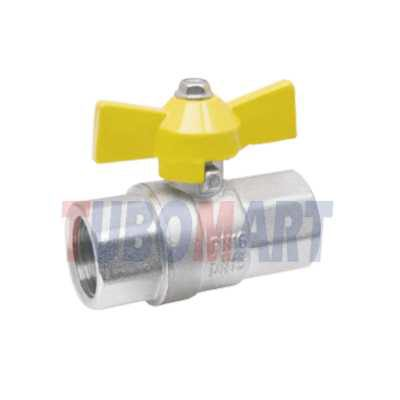 Female-female Brass ball valves