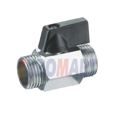 male-male ball valves