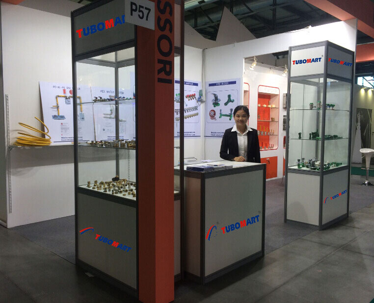 Trade shows plumbing system pipes fittings for Fiera milano 2016