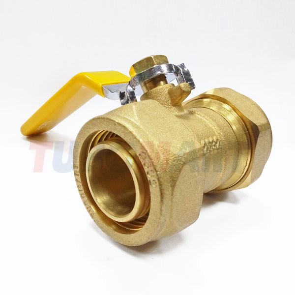 2 Coupling Gas Ball Valve