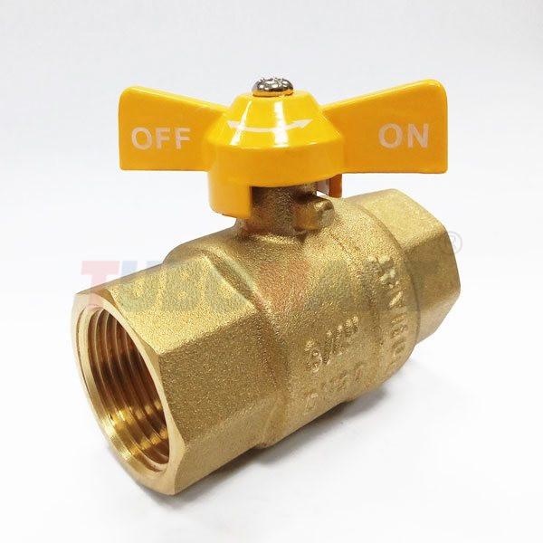 Butterfly Handle Ball Valve F-F
