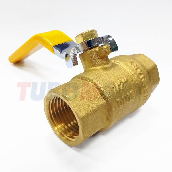 Female Lever Gas Ball Valve