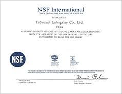 NSF Mark Certificate