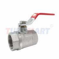 Lever brass valve
