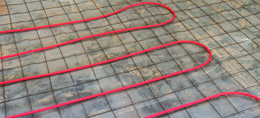 PEX Tubing for Hydronic Heating