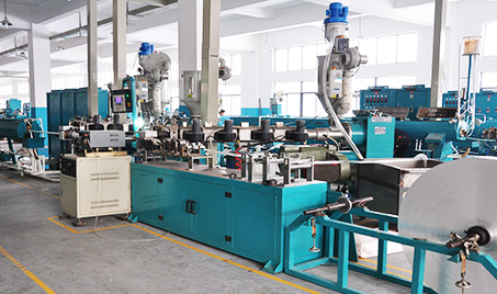 Gas pipe factory