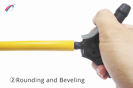 Rounding and beveling